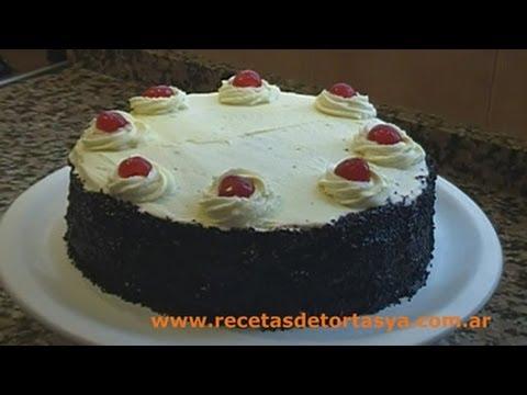 Torta Selva Negra - Recetas de Tortas YA!