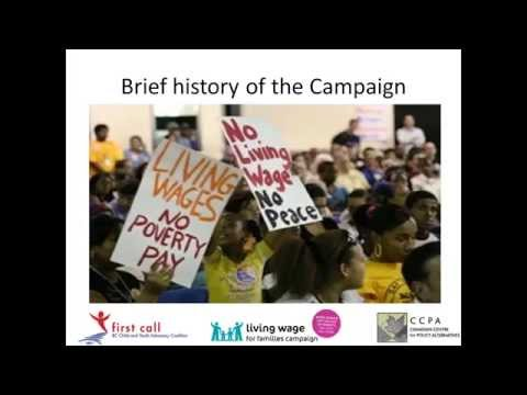 Calculating the Living Wage: webinar for local communities