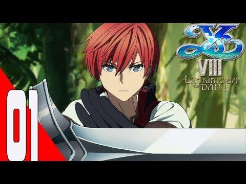 Ys VIII: Lacrimosa of DANA Gameplay Walkthrough Part 01 - English- No Commentary  - Longplay- (PS4)