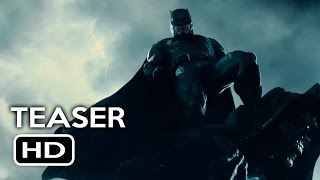 Justice League Trailer #1 Batman Teaser (2017) Gal Gadot, Ben Affleck Action Movie HD