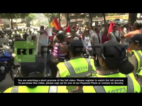 Venezuela: Tensions mount between anti and pro-government activists