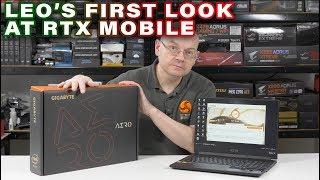 Gigabyte Aero 15 X9 Laptop (2019) - What does LEO think of Nvidia RTX Mobile?