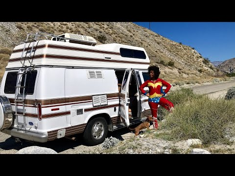 Van Life Mechanical Failure at Whitewater Preserve! What now?!?!?