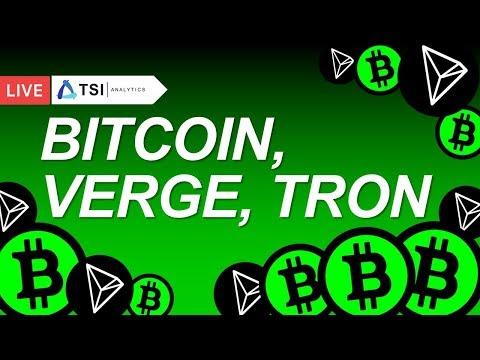 BITCOIN, TRON, VERGE | Какие перспективы? | Прогноз цены на Биткоин, Трон, Вердж, Криптовалюты