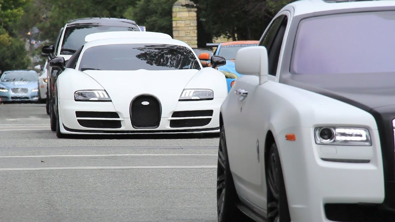 7 bugatti veyrons including super sport vitesse grand sport pur blanc etc youtube. Black Bedroom Furniture Sets. Home Design Ideas