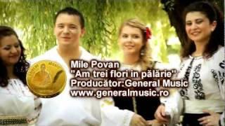 Mile Povan -Am trei flori in pălarie