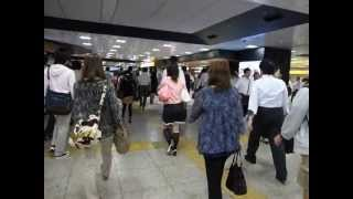 Morning Tokyo Station Walkabout 東京駅朝散歩 120925g