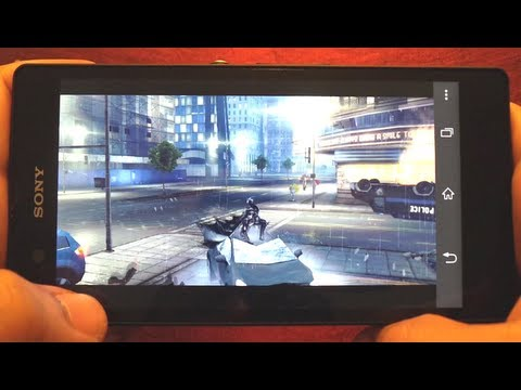 TOP 19 GAMES ON SONY XPERIA Z
