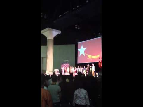 Burmese National Anthem with Daw Aung San Su Kyi