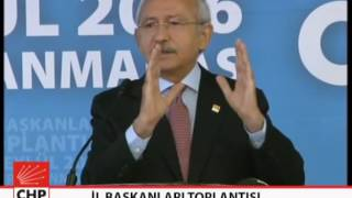 İL BAŞKANLARI TOPLANTISI 24/09/2016