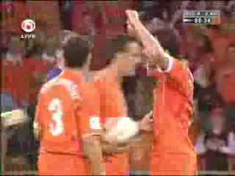 Funny Goal by Nistelrooy Video
