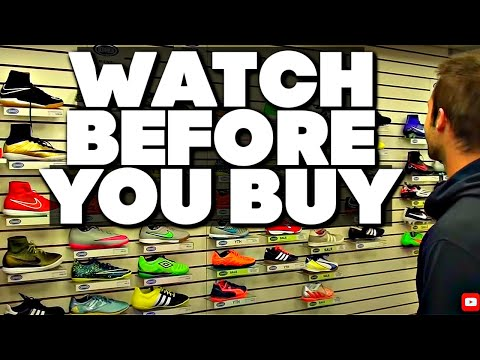 DON'T BUY Soccer Cleats Indoor Soccer Shoes Or Football Boots Before Watching This Video...