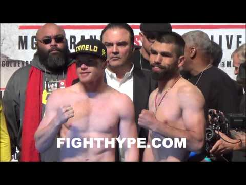 CANELO ALVAREZ VS ALFREDO ANGULO FINAL FACEOFF