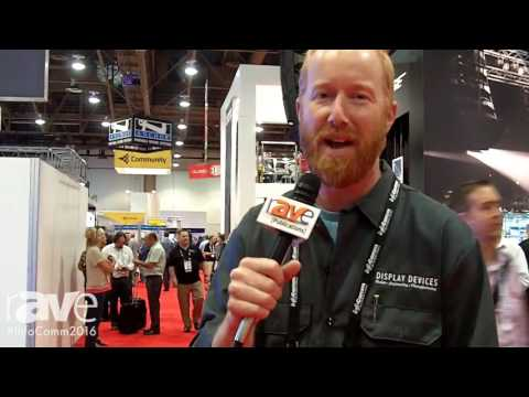 InfoComm 2016: Display Devices Exhibits Custom Projector Enclosures