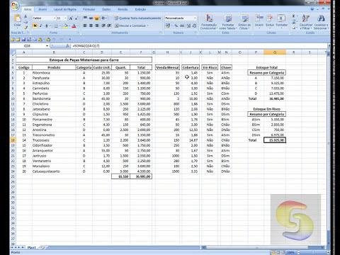 Excel 2007 - Super Dicas - Função SOMASE + Bônus Extra