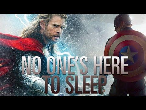 No Ones Here To Sleep (Thor/Loki & Steve/Bucky)