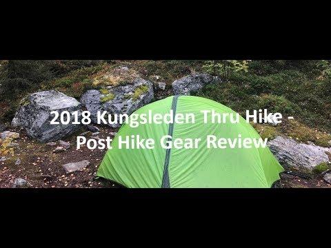 2018 Kungsleden Thru Hike - Post Hike Gear List Review