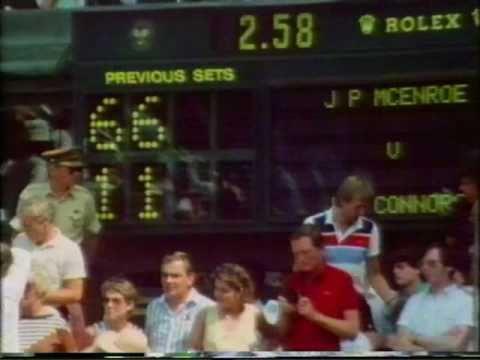 ウィンブルドン 1984 - ジョン マッケンロー vs Jimmy コナーズ