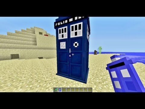 Minecraft Mod Showcase - Daleks Mod!