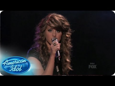 "Angie Miller Performs ""I Surrender"" by Celine Dion: Top 10 Performances - AMERICAN IDOL SEASON 12"