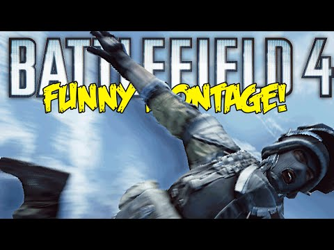 Battlefield 4 Final Stand Funny Montage!  Moon Flying, Smelly Finger , Lazer Gun (BF4 Funny Moments)