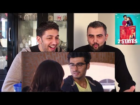 2 States Trailer Reaction | Arjun Kapoor, Alia Bhatt