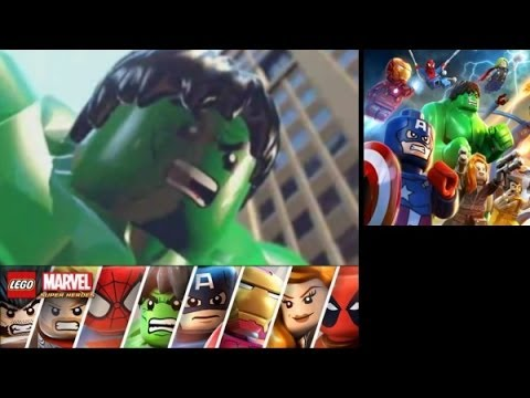 LEGO Marvel Super Heroes: Universe in Peril (3DS/Vita) Walkthrough Part 1 - Park Avenue
