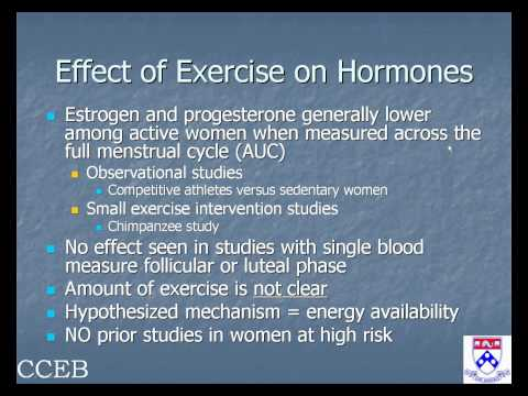 Exercise, Obesity, and Cancer Prevention: An Update, March 3, 2010