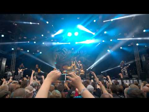 Sabaton - Talvisota Live @ Tuska Open Air, Helsinki 26.6.2015