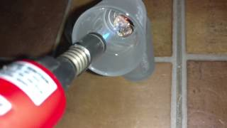 Melting Cooper - obtaining zinc with a simple torch(3)
