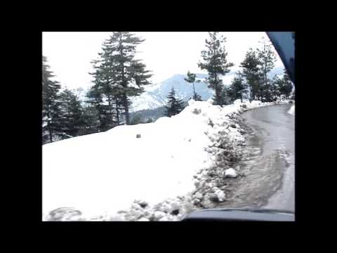 Live Snowfall in Jammu & Kashmir