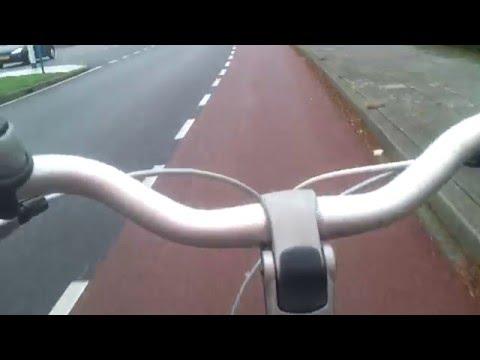 ścieżki Rowerowe W Holandii.Rok W Szklarni. Dzień 73. Praca W Holandii.