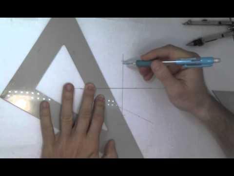 Como dibujar un ovalo con el metodo de los cuatro centros