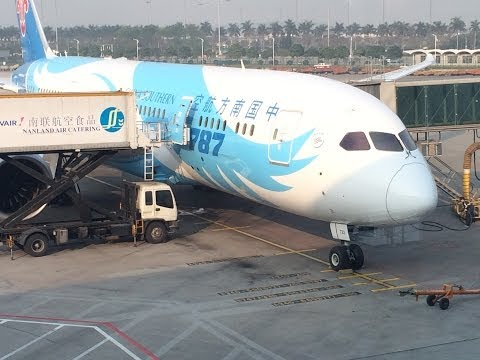 China Southern 787-8 Guangzhou - London Heathrow