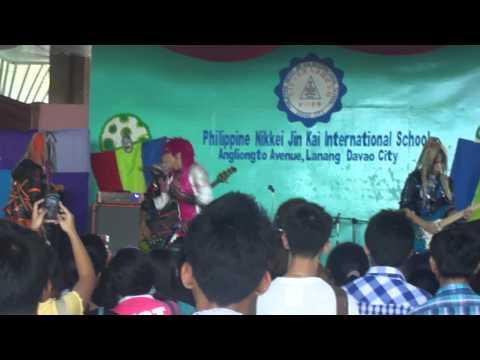 [FANCAM] Uchusentai NOIZ - Narda @ Philippine Nikkei Jin Kai Gym Davao (September 8, 2012)