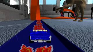 Hot Wheels Stunt Track Driver: Living Room/Kitchen/Dining Room (Stage 1)