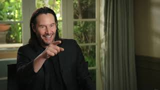 "Keanu Reeves   ""John Wick"" 3  sit down interview"