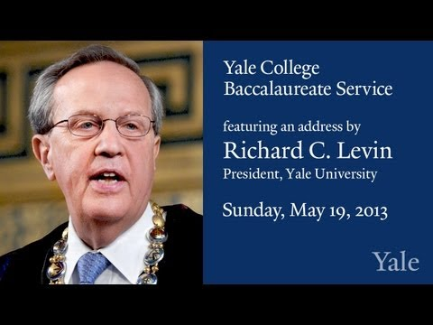 Yale Class of 2013 Baccalaureate Ceremony