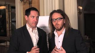 Matilda's Bertie Carvel 'interviews' Tim Minchin at Drama Desk Awards