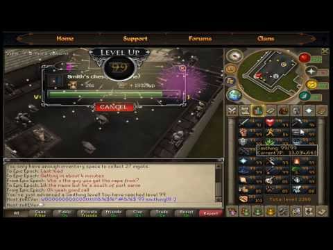 2013 Runescape 1-99 Smithing guide
