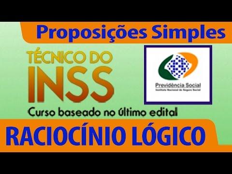 Aula Gratuita Técnico Inss - Raciocínio Lógico - Proposições Simples - Professor José Luiz De Morais video