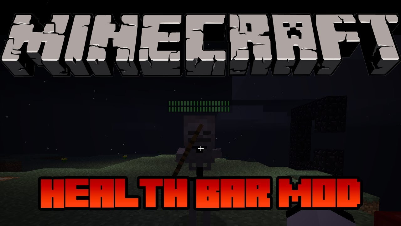 Health Bars Minecraft Minecraft Mod 1.5.1 Health