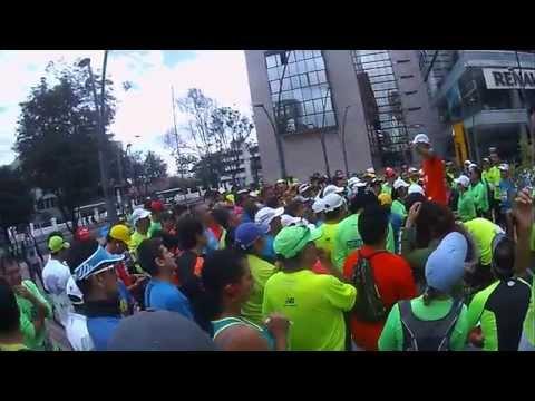 Entrenamiento Media Maratón de Bogotá 2015