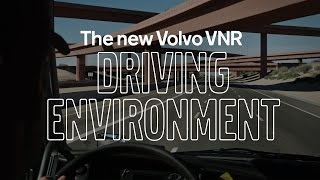 Volvo Trucks - Chief Designer tells the inside story of the new Volvo VNR - Driving Environment