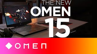 The All-New OMEN 15 | Ultra-thin. Ultra-Settings. Anywhere