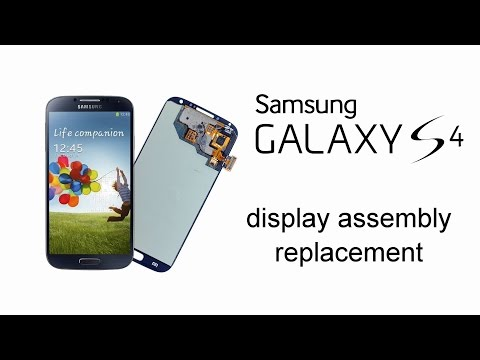 Samsung GALAXY S4 - LCD Display & Touch screen Replacement