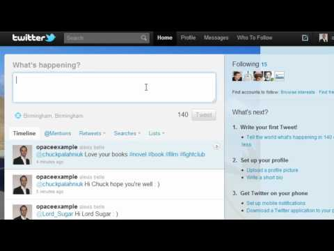 Twitter Basics (Part 5) - @Mentions and Hashtags - Opace Twitter Video Tutorials