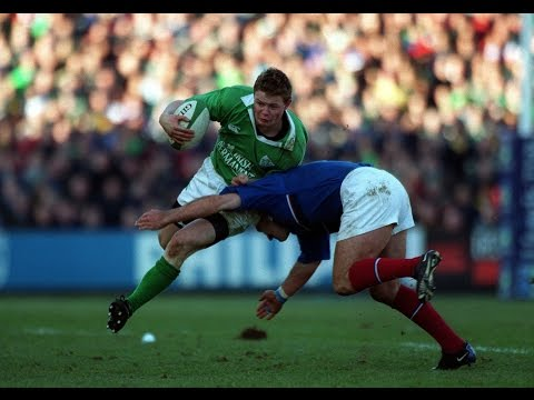 RBS 6 Nations Greatest Moments: Brian O' Driscoll Try Ireland v France 2001