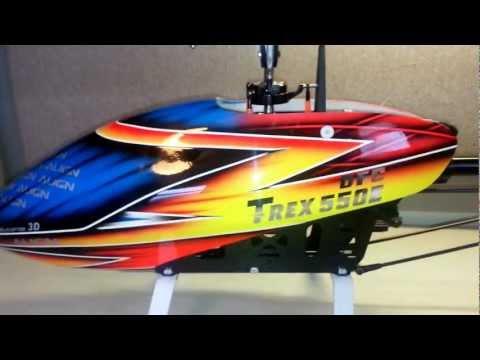 Trex 550 DFC V3 Vs Trex 600 DFC