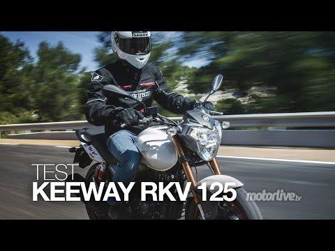TEST   KEEWAY RKV 125. le roadster qui a tout d'une grande !